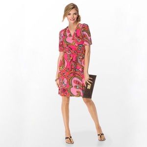 Lilly Pulitzer Adalie Wrap Dress XS